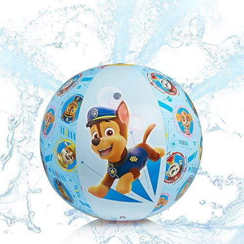 PAW PATROL Juegos de Agua, Bola de Aspersor Niños Inflable,