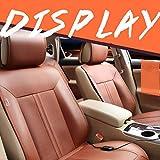 GXLXY Asiento calefactado para automóvil Asiento Delantero para automóvil de 12V Calentador Caliente Almohadilla calefactada Fundas para Asientos(Asiento Delantero y Trasero)