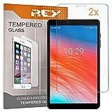 2X Protector de Pantalla para CHUWI Hi9 Pro 8.4' - Hi 9 Pro, Cristal Vidrio Templado Premium, Táblet