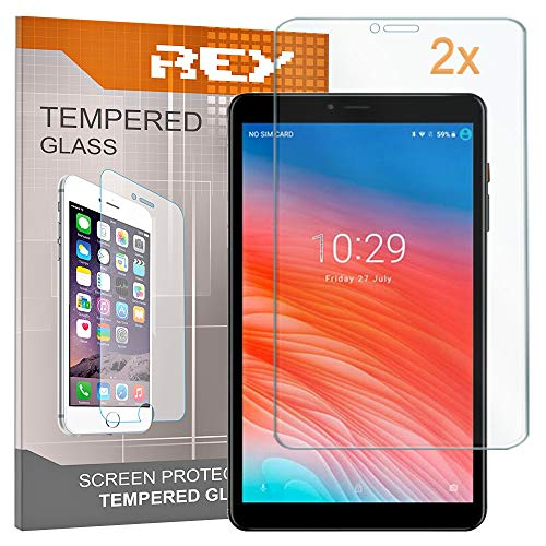 """2X Protector de Pantalla para CHUWI Hi9 Pro 8.4"""" - Hi 9 Pro, Cristal Vidrio Templado Premium, Táblet"""