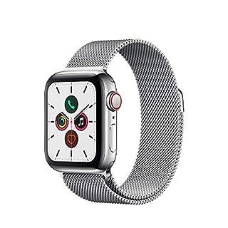 Apple Watch Series 5 (GPS+Cellular, 40 mm) Edelstahlgehäuse - Milanaise Armband (B07XS9F3DQ) | Amazon price tracker / tracking, Amazon price history charts, Amazon price watches, Amazon price drop alerts