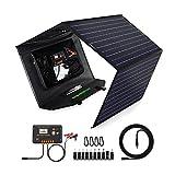 Best Portable Solar Panels - ECO-Worthy Upgrade 120 Watt Foldable Solar Panel Battery Review