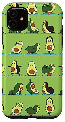 iPhone 11 Avocado Yoga Case
