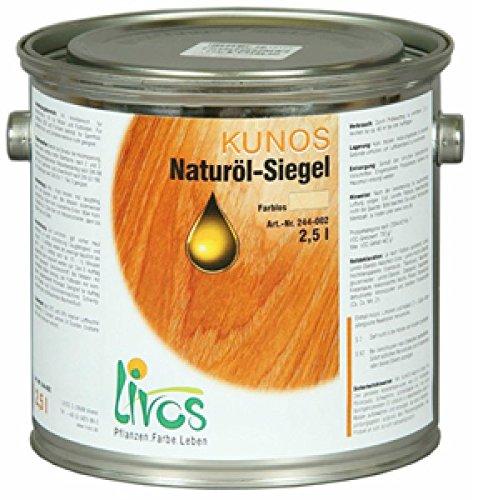 Livos Kunos Naturöl-Siegel Hartöl farblos 2,5 l