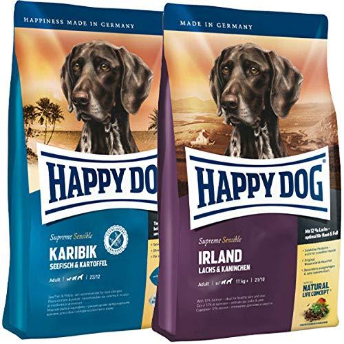 Happy Dog 12,5 kg Supreme Karibik + 12,5 kg Supreme Irland