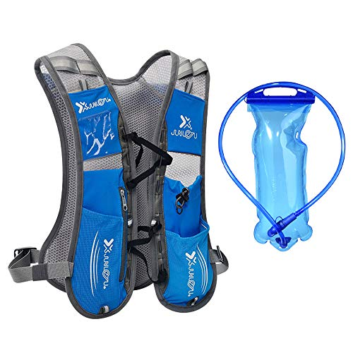 LIAWEI Hydration Backpack for Outdoor Running Cycling Biking Hiking Climbing Skiing Hunting Pouch,Professional Water Backpack, Lightweight Sport Bag for Men, Women, Kids
