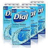 Dial Antibacterial Bar Soap, Spring Water, 32 Bars