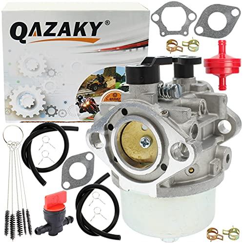 QAZAKY Reemplazo del carburador para Kawasaki FJ180V Motor de 4 tiempos 15003-7110 15003-7132 15004-0952 15004-0962 15004-0993 15004-7010 Toro 22187 22188 22188TE 22189 22298 AM21 AS30 AS40 BM