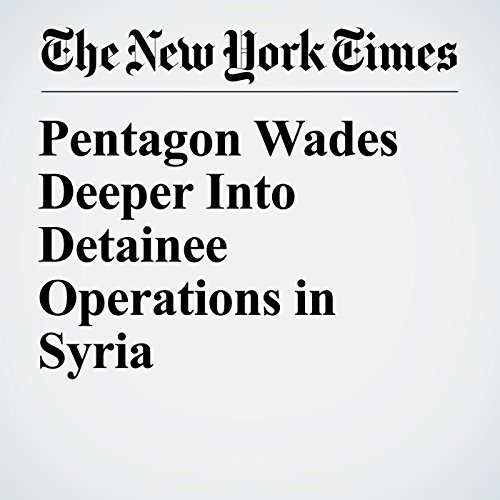 Pentagon Wades Deeper Into Detainee Operations in Syria copertina