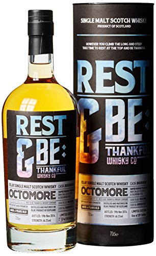 Octomore Rest und Be Thankful 6 Years Old Bourbon Cask Limited Edition mit Geschenkverpackung Whisky (1 x 0.7 l)
