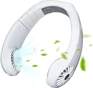 Enfriador De Ventilador De Cuello De Aire Acondicionado Personal, Ventilador De Banda De Cuello De Enfriamiento De Doble Efecto Inteligente Portáti