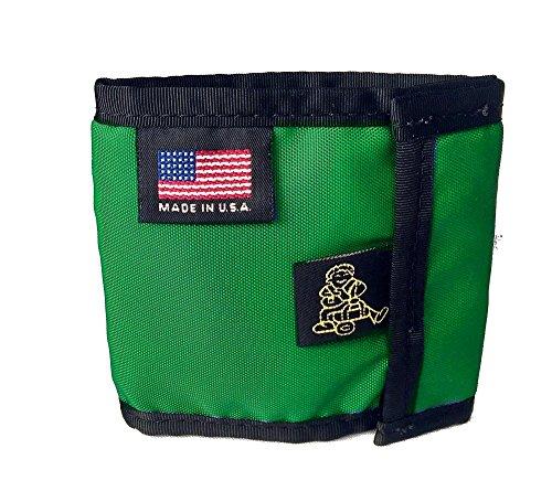 tough wallets Tough Traveler 'Small Wallet' - 100% Made in USA (Green)