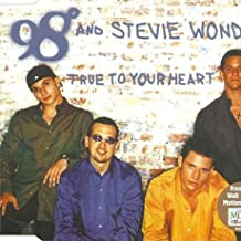 98 Degrees And Stevie Wonder - True To Your Heart - Motown - 860 847-2