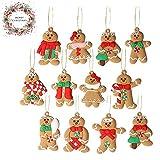 Large Gingerbread Man Ornaments Gingerbread Christmas Decor Christmas Christmas Tree Ornaments Christmas Tree Decorations Set 2020 Personalized Christmas Ornaments Set of 12