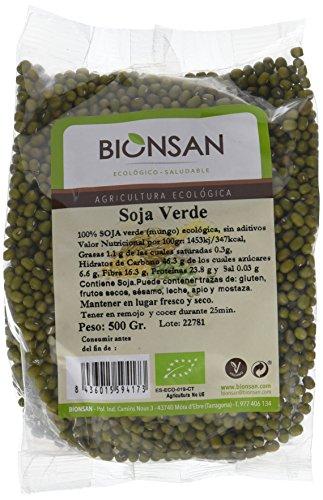 Bionsan Soja Verde de Cultivo Ecológico - 500 gr