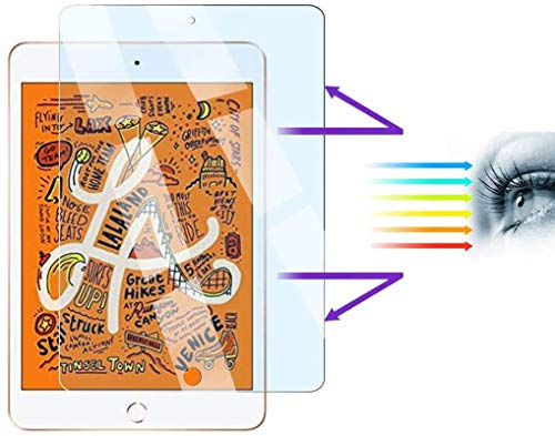 [2 Pack] Nusign+ Anti Blue Light Screen Protector for 7.9' Apple iPad Mini 4/Mini 5 – Anti-Glare, Anti-Scratch, Blocks 96% UV Blue Light Protection