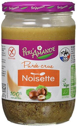 PERL'AMANDE Purée de Noisettes Bio 600 g