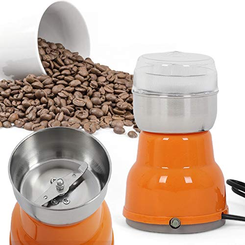 LTDD Macinacaffè elettrico multifunzionale, macinacaffè in acciaio inox/macina spezie, potente capacità di macinazione, adatto per macinare chicchi di caffè, noci, cereali, semi, spezie, erbe