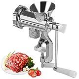Manual Meat Grinder Hand Crank Chopper Mincer Sausage Maker Home Kitchen Tool Aluminum