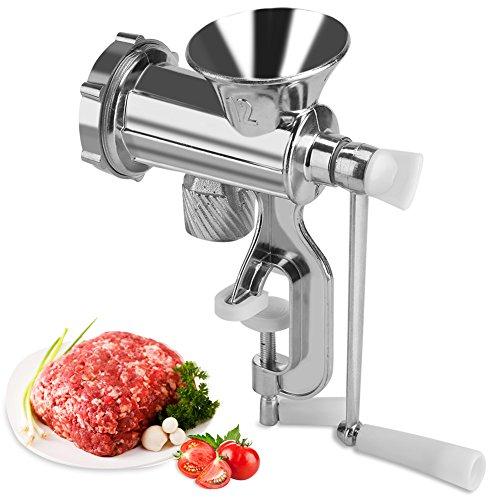 Fleischwolf , Manueller Multifunktions-Fleischwolf Chopper Mincer Wursthersteller Home Kitchen Tool zum Fleischmahlen, Fleischabfüllen usw.