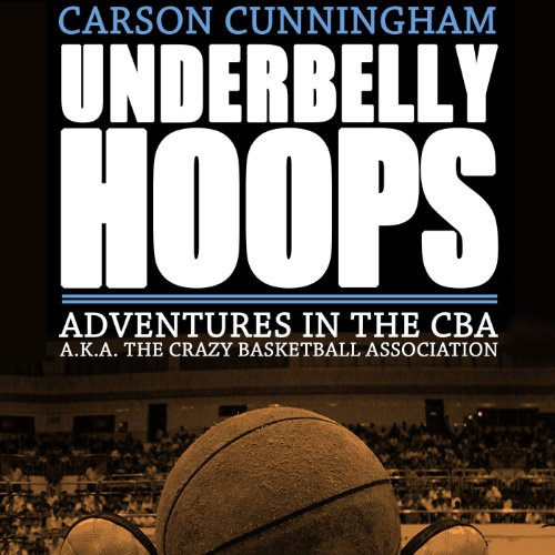 Underbelly Hoops audiobook cover art