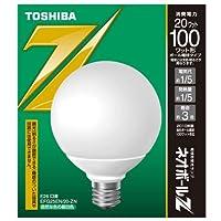 東芝ライテック 電球形蛍光灯 ネオボールZ 3波長形昼白色 EFG25EN/20-ZN  口金直径26mm