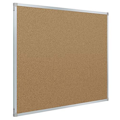 Tablón de corcho, Mead Classic, MEA85360 Aluminio, 0.6 x 0.4 m