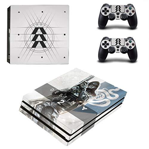 46 North Design Playstation 4 PS4 Pro Folie Skin Sticker Konsole Clan aus Vinyl-Folie Aufkleber Und 2 x Controller folie