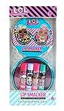 Lip Smacker - L.O.L Surprise 4 Flavoured Lip Balm Tin - Set de Bálsamos Labiales de Sabores para Niñas - Lata con 4 Sabores 150 g