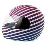 Helmet Dress Funda Casco Integral Moto Flashy