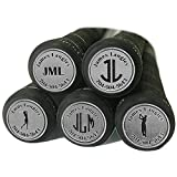Personalized Golf Club Finder with 3-Letter Monogram~Set of 14~4 Color Options~5 Engraving Styles