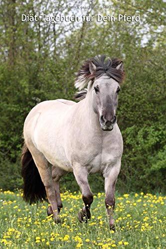 Diät Tagebuch für Dein Pferd: Konik - schnell und einfach die Diät und das Trainingsprogramm dokumentieren; inkl. Vorlagen zum Ausfüllen