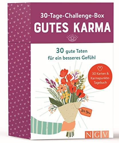 30-Tage-Challenge-Box Gutes Karma: 30 gute Taten für ein besseres Gefühl