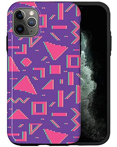 JUSPHY - Carcasa para iPhone 12 Pro, diseño de moda, color rosa