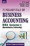Fundamentals of Business Accounting BBA Semester I KU