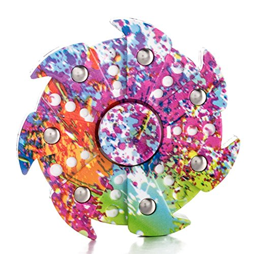 DSSY Stress Spinner Fidget Finger Dice Anti-Stress Release Toys for Children/Adults