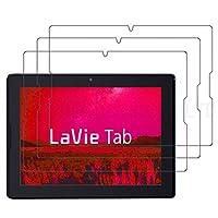 【3枚パック】【RISEオリジナル】NEC LaVie Tab E TE510/S1L 液晶保護フィルム (PC-TE510S1L) 10.1インチ 液晶保護フィルム 防指紋 反射軽減 映り込み防止 マットタイプの防指紋液晶保護フィルム