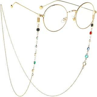 Gooder Eyeglass Chains for Women Girl Glasses Beaded Reading Glasses Cords Sunglasses Holder Strap Lanyards Eyewear Retainer