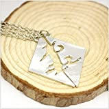 Two Pieces Necklace with Parabatai Rune, Shadowhunters