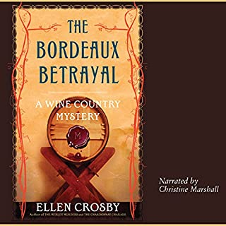 The Bordeaux Betrayal audiobook cover art