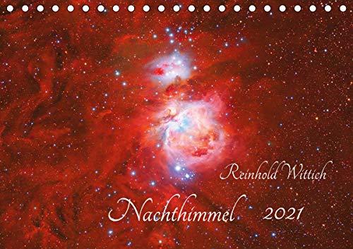 Nachthimmel (Tischkalender 2021 DIN A5 quer)