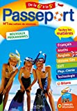 Passeport Cahier de Vacances 2020 - Toutes les matières de la 6e à la 5e