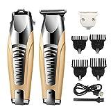 XDXDO Recargable cortadora de Cabello eléctrica cortadora de Cabello Multifuncional de los Hombres, Profesional Pelo Trimmer Set, electrodomésticos Hair Clippers