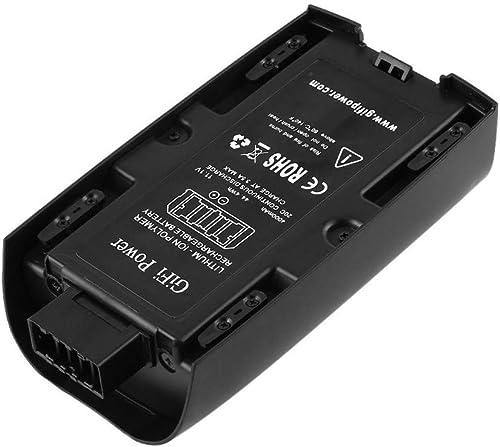 Sisit pour Quadricoptère de Drone Parrouge Bebop 2 RC,Batterie LiPo 4000mAh 44.4Wh 20C 11.1V (Noir)