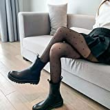 SUNXC Schiere Mesh, Mädchen-Socken Plus kerngesponnene Seidenstrumpfhose-schwarz_2pcs,Nylon...