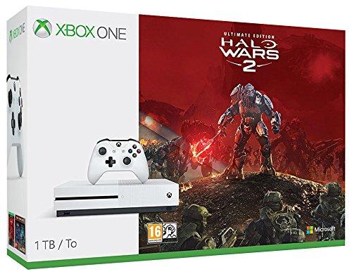 Microsoft Xbox One S 1TB incl. Halo Wars 2 USK12