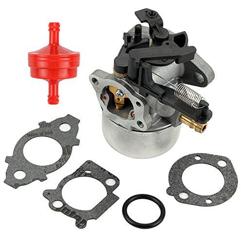 Butom 591137 Carburetor with Gasket Fuel Filter for 111P02 111P05 111P07 114P02 114P05 114P07 11P902 11P905 11P907 121Q02 121Q07 121Q12 121Q42 121Q72 121S05 121S07 121S12 Engine