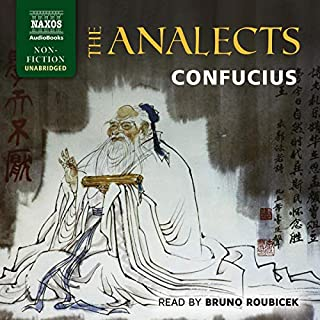 The Analects audiobook cover art