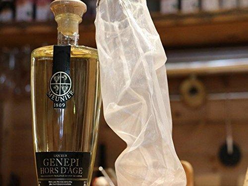 Charles Meunier Genepy Likör 5 Jahre Alt - Kräuter-Likör aus den Französische Alpen Genepi - Alkohol - 0.5l