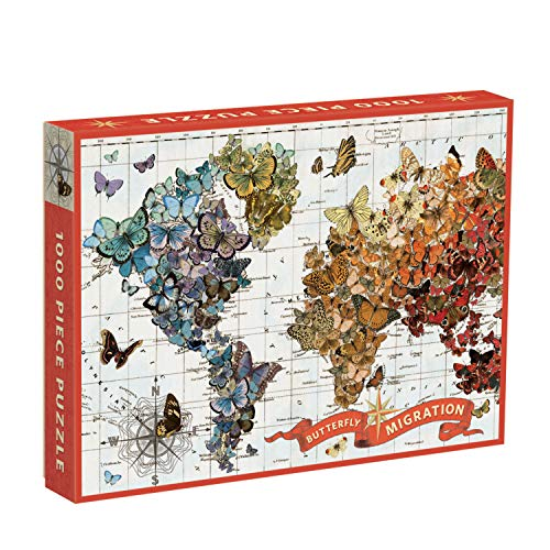 Puzzle: Wendy Gold Butterfly Migration 1000 PC
